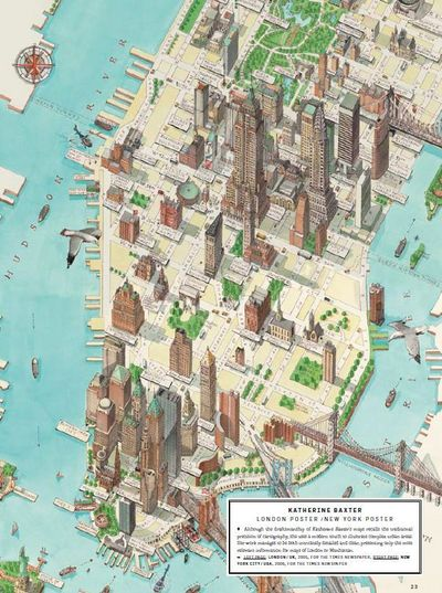 A Stylized Street Map With Some Choice Landmarks Katherine ... / Nice Signs - Juxtapost