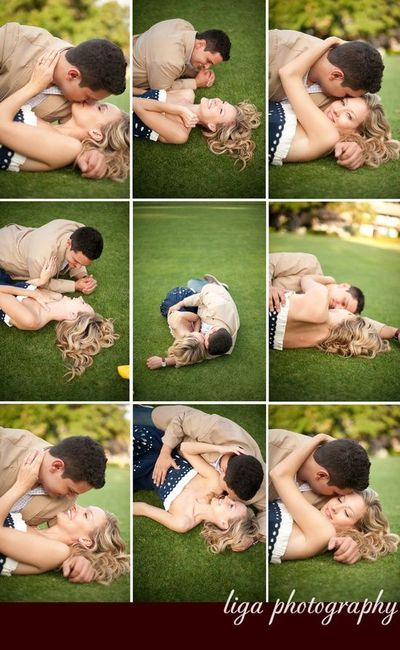 Lovely engagement photo ideas