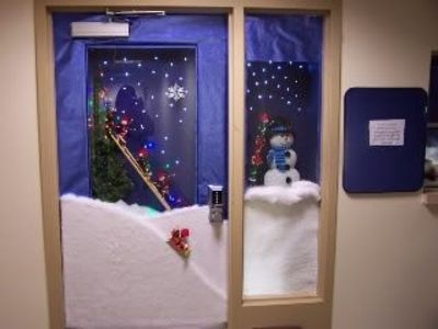 perfect notre dame school talent show 2013 christmas door decorating contest