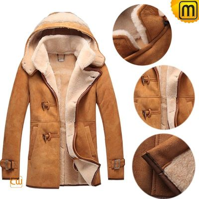 Mens Merino Sheepskin Jacket CW877133 / Fur Lined Coat - Juxtapost