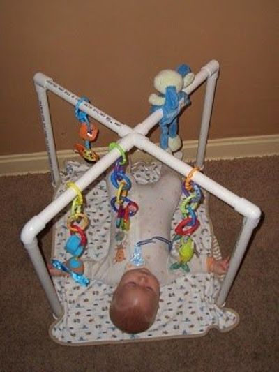 Pvc Pipe Diy Baby Play Gym Baby Time Juxtapost