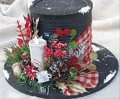 Love These Christmas Centerpieces Handmade