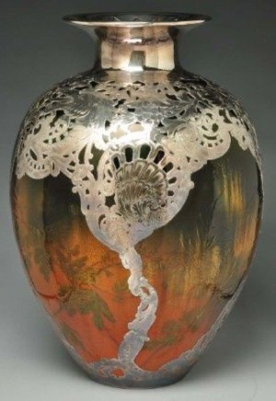 Monumental Rookwood Pottery Vase Attributed To Valentien Wi