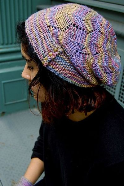 Free Pattern: Fractured Light (Hat) by Kirsten Kapur