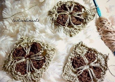 Free Crochet Granny Square Motifs : Cathedral Motif - Granny Square Crochet - Free Pattern ...
