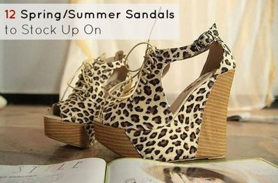12 Spring/Summer Sandals to Stock Up On
