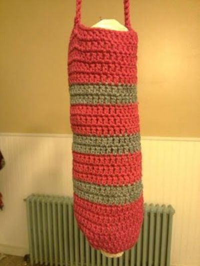 Pics Photos - Free Crochet Patterns Plastic Bag Holders Images