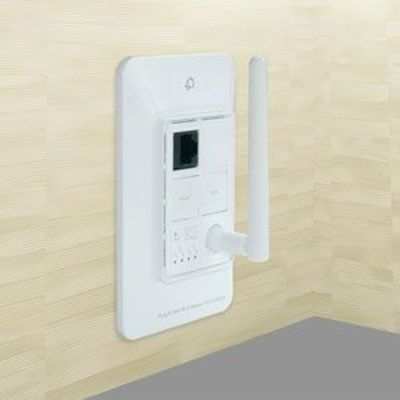An in-wall Wi-Fi router