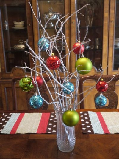 use baby colors for a Christmas or Holiday baby shower