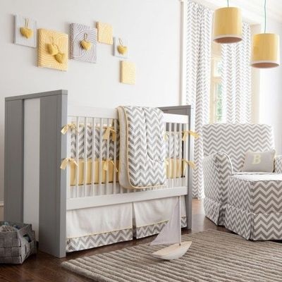 Curtains Ideas chevron curtains grey : wall color- light grey- almost white. Make Chevron curtains ...