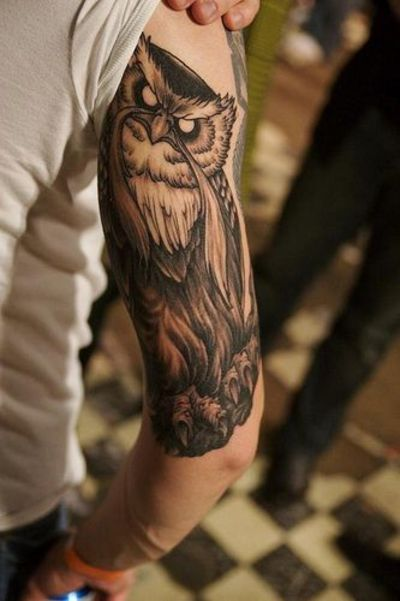 I Want This Tattooed On My Thigh The Great Owl From The Sec