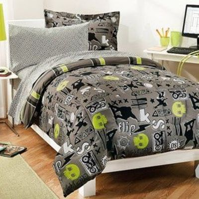 X-Factor Complete Bed in a Bag Bedding Set $50