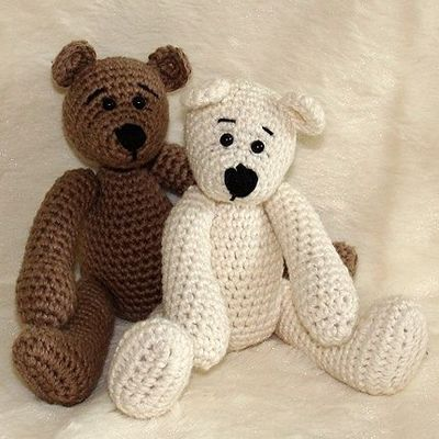 Free Crochet Patterns For Teddy Bear Sweaters : Free Easy Crochet Patterns FREE TEDDY BEAR CLOTHES ...