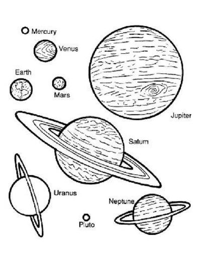 Drawings of Our Planets - Pics about space