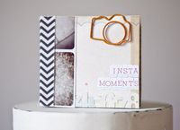 aw seriously cute. I love this little instagram album and look at the camera paper clip!