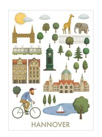Hannover Poster (50x70cm)