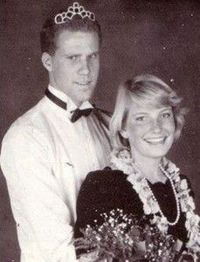 Yeah, its Will Ferrel's prom picture.