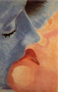 Robert Delaunay - The kiss