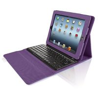 iPad case with built-in bluetooth keyboard