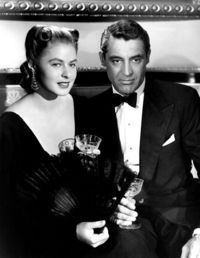 Ingrid Bergman(Notorious) With Cary Grant