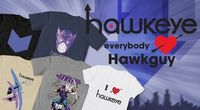 Hawkeye shirts are excellent :)
