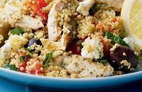 chicken & feta couscous