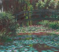 Water Lily Pond   The Art Institute of Chicago How can the Water Lilies not inspire? Monet just did things with this series that make me long for a quiet day resting and listening to the world without machines.