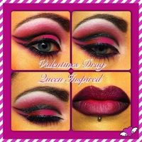 Valentines Drag Makeup