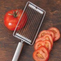 Shop CHEFS Stainless Steel Tomato Slicer at CHEFS. $19.95