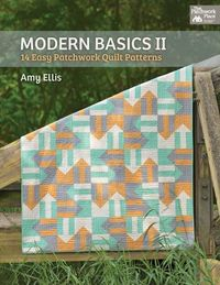 Modern Basics 2 (4 colors, rail fence, flying geese)