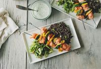 salmon kebabs . sprouted kitchen