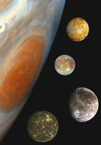 Jupiter's Family Portrait