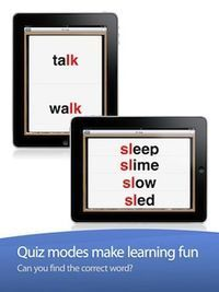 FREE app with over 6000 words in 225 categories, articulation practice, quiz games and much more.