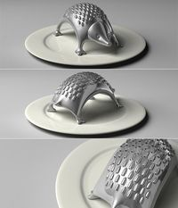 hedgehog cheese grater!