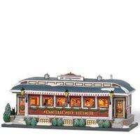 Department 56: Products - American Diner - View Lighted Buildings