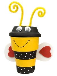 Bumble bee pot