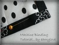 Amy Made That! ...by eamylove: Free Tutorial - Machine Binding!