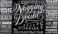 Friday Footage: Nagging Doubt Viognier - amazing timelapse video of Dana Tanamachi creating chalk artwork for a wine label