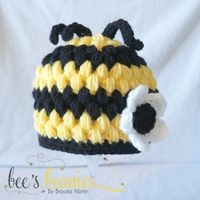 Newborn Crochet Bee