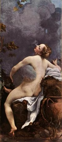 Correggio (Antonio, Allegri) - Jupiter and Io.