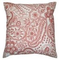 Target Home PINK Embroidered Paisley Pillow