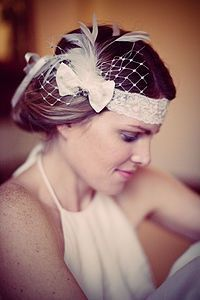 evangeline headband (1920's inspired)