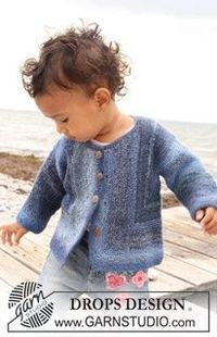 Crochet Surprise Jacket Free Pattern : Free Knitting Pattern Drops Design Baby Surprise Jacket ...