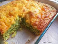 Broccoli Cheese Cornbread (Comfy Cuisine)