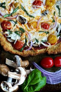 Gluten-free crust