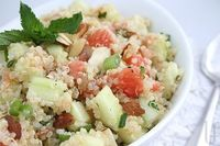 quinoa-grapefruit-cucumber salad