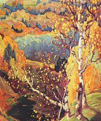 Franklin Carmichael ~ October Gold, 1922
