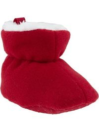Old Navy | Micro Performance Fleece Sherpa Booties for Baby