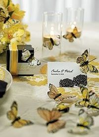 These butterflies are ideal for use on centerpieces, cupcakes, place cards, floral bouquets, the guest table or anywhere a butterfly would flutter. Each package comes carefully selected with an assortment of 25 butterflies that vary in style and tone to a...