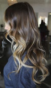 Brunette with Caramel....aiming for this color
